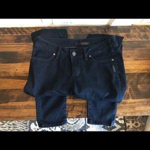 Silver Ashlee Dark Skinny Jeans 💙🖤💙
